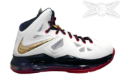Image of LeBron 10 Nike Plus GOLD MEDAL