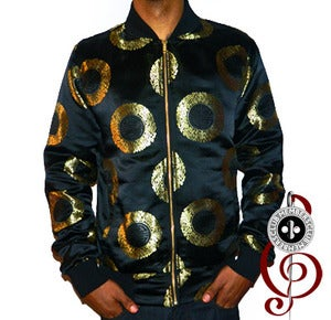Image of Member Ship Silk Black Jacket