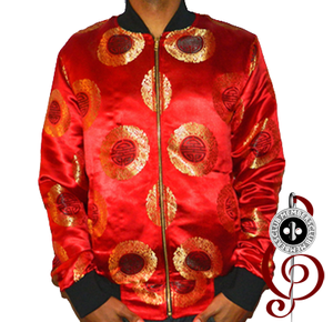 Image of Member Ship Silk Red Jacket