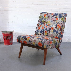 Image of Vintage Parker Knoll Chair in Nasturtium - Made to Order