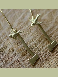 Image of Lumberjack Axe Earring