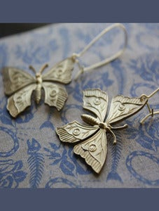 Image of Butterfly Earrings by Christine Domanic