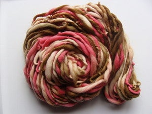 Image of Handspun Merino Yarn - Chocolate Cherries