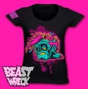 Image of POP-ZOMBIE Women's V-Neck Shirt