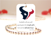 Image of NFL Football Houston Texans Necklace Pendant Jewelry