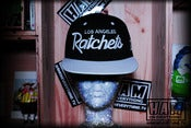 Image of LA RATCHETS SNAPBACK (black/white)