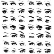 Image of Eye brow design