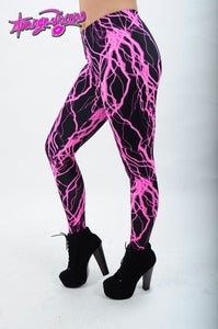 Image of Electrifying Pink Leggings