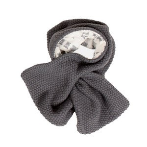 Image of l'asticot | grey woollen scarf