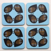 Image of Owl Coasters - Pack of Four