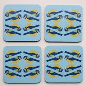 Image of Bluetit Coasters - Pack of Four