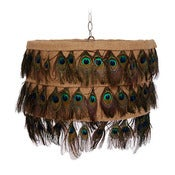 Image of Peacock Lamp