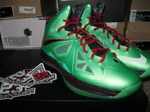 "Image of LeBron X (10) ""China Jade"""