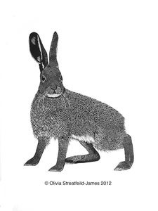 Image of Gus-Leveret - Limited Edition Linocut Print