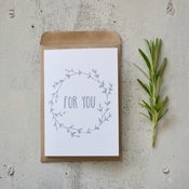 For you - Mini card