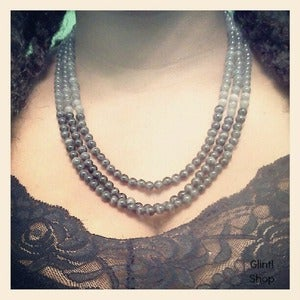 Image of Shades of Grey Ombre Necklace