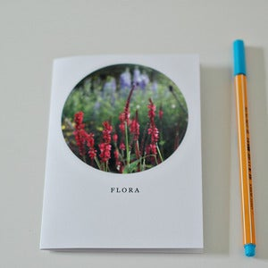 Image of Flora Circle Greetings Card