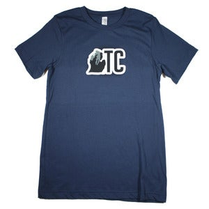 Image of TC Michigan T-Shirt Navy