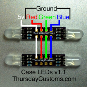 Image of Case LEDs v1.1