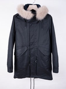 Image of A.P.C. - Coated Fishtail Parka
