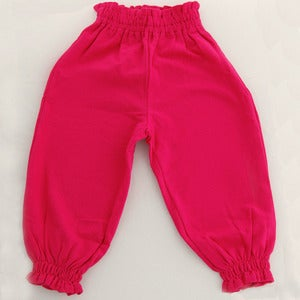 Image of The Gang Puffy Pants Fushia
