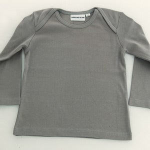 Image of Gardner long Sleeve T shirt Grey