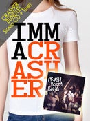 Image of CRASHER BUNDLE #1: Signed CD + TShirt