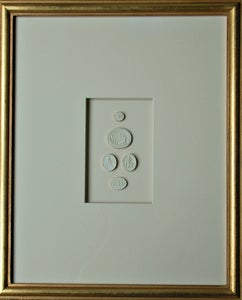 "Image of Framed Intaglios - ""Graham"" Design"