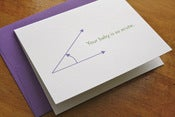 Image of Baby is Super Acute Card