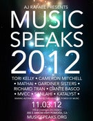 "Image of ""Music Speaks 2012"" VIP Ticket"