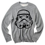 Image of Grey pullover SLOTH TROOPER sweater