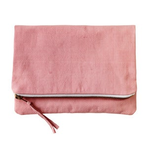 Image of Organic Cotton Clutch - Petal