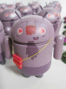 Image of Pandroid - Android Series 3 Mini APs w/ sculpt & limited edition print!