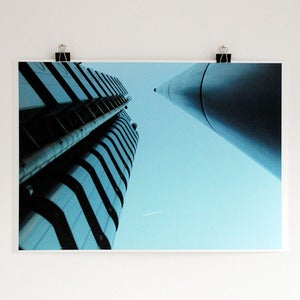 Image of 'The Lloyds building' A2 giclee print