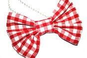 Image of Gingham bow