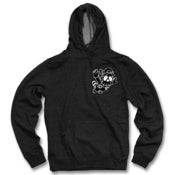 Image of GhostFace Chenille Pullover (charcoal)