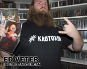 Image of KAOTOXIN &quot;logo&quot; t-shirt
