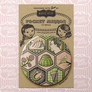 Image of Memoryland No 2 Pocket Mirror