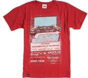 Image of 2012 Drive Through Cinema T-shirt - Red
