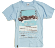 Image of 2012 Drive Through Cinema T-shirt - Light Blue