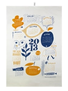 Image of Kauniste kitchen towel Calendar 2013 by Sanna Mander