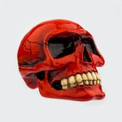 Image of Small Skull - Passion Red
