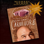 Image of **NEW**Michael Symon's, Carnivore - SIGNED