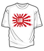 Image of Lau - Japanese white T Shirt