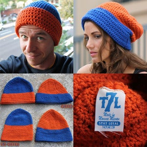 Image of Blue & Orange hat