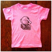 Image of Kids Logo T-Shirt Bright Heather Pink