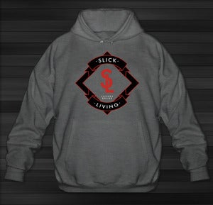Image of SOLD OUT: Limited Edition* Slick Living Infrared Emblem Hoodie