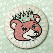 Image of Party Bear Pocket Mirror