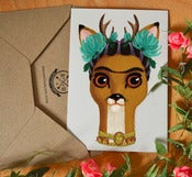 Image of CARD SET &quot;Frida&quot; | 6pcs