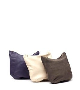 Image of KEEPERS - Recycled Leather Pouch / Small Clutch